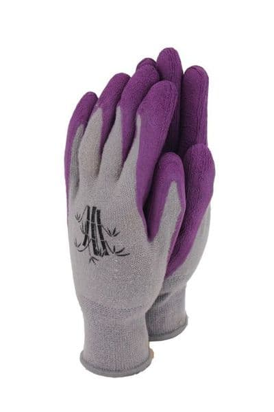 Town & Country Bamboo Gloves Grape - Medium